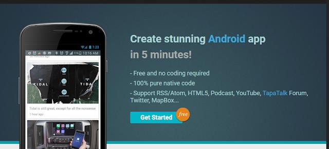 5 Daftar website Membuat aplikasi android tanpa coding mudah Tanpa ribet!