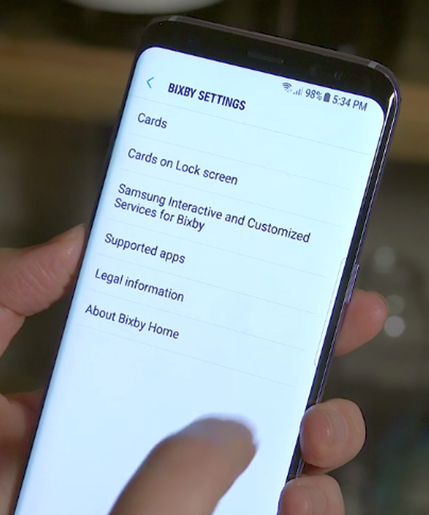 Bixby Button and How to Use   Galaxy S8 Plus Manual