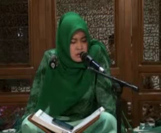 Mp3 Tilawah Qori'ah Hj. Annisaul Malikha - Surat Al Waqi'ah Ayat 1