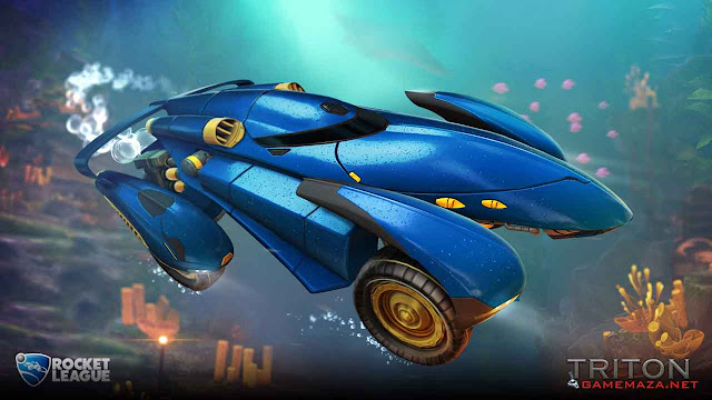 Rocket League Triton Gameplay Screenshot 1