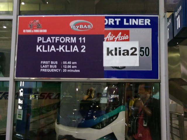 Jadual perjalanan bas Nilai ke KLIA/KLIA2