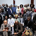President Buhari meets with Nigerian Community in Germany..photo