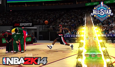 NBA 2K14 All-Star Weekend Slamdunk & 3pt Shootout