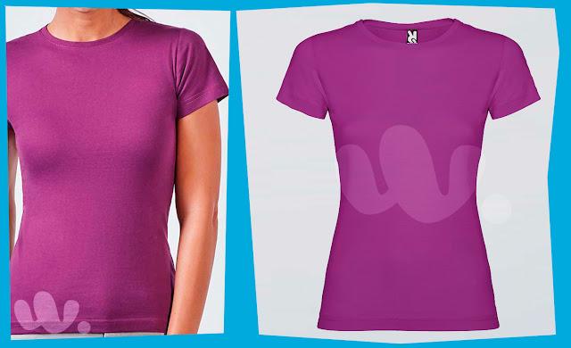 Camiseta en Rafasshop Jamaica 6627 Roly en color púrpura