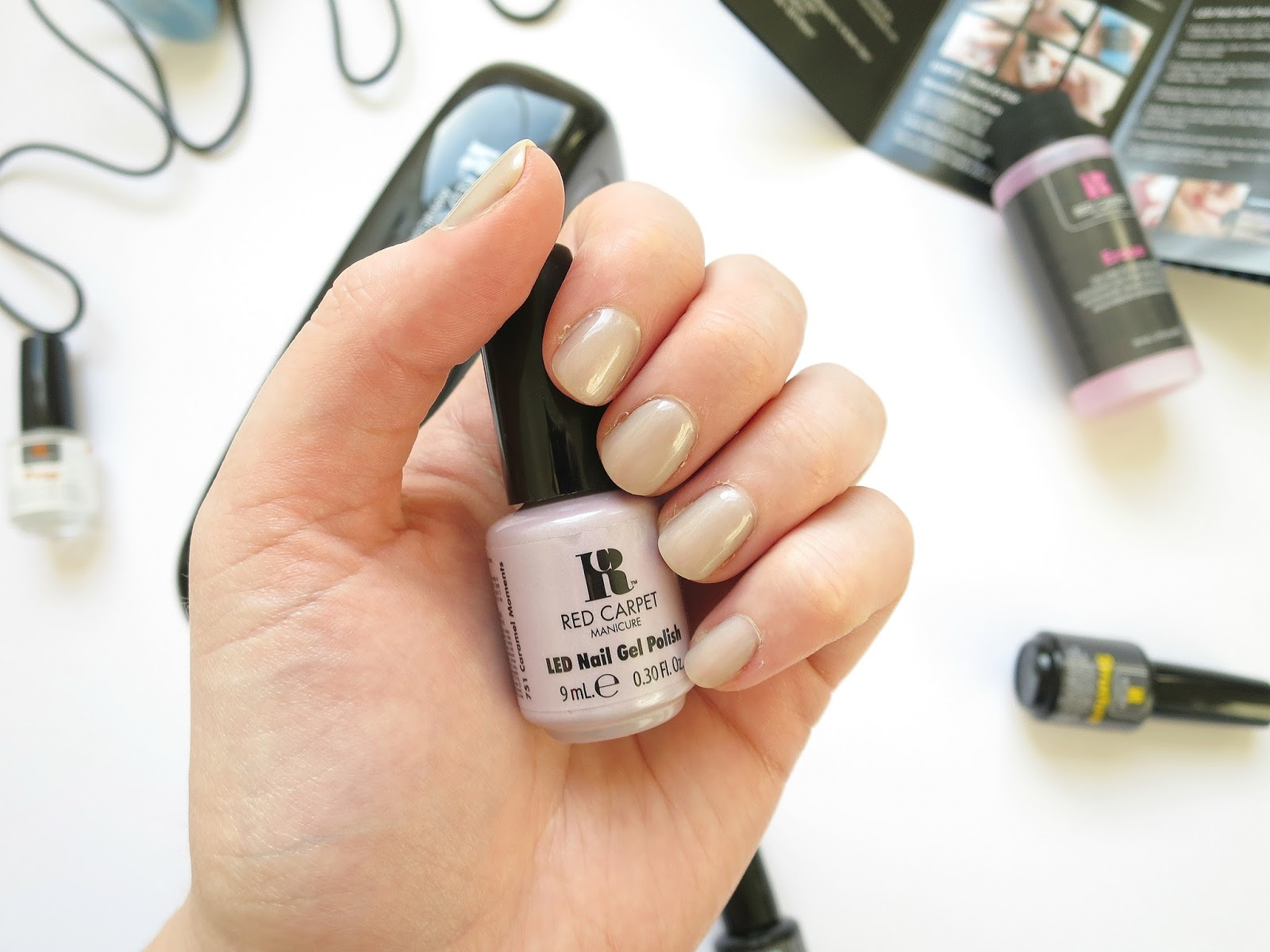 Red Carpet Manicure Gel Nails Starter Kit | Lilies and Lipbalm