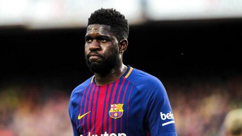 Barcelona mất Umtiti trong 2 tháng