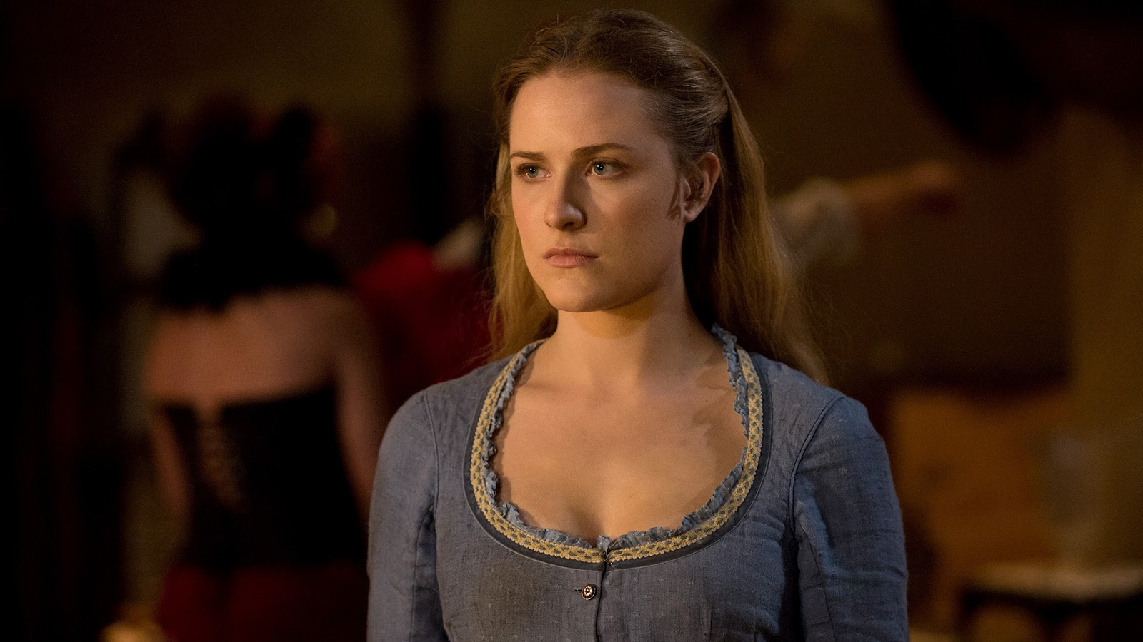 Dolores Abernathy, interpretada por Evan Rachel Wood en 'Westworld'