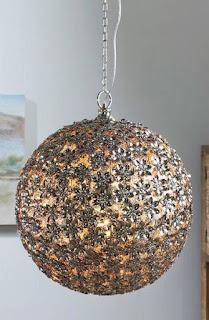 Lámpara Techo Metal Troquelado Adhoa