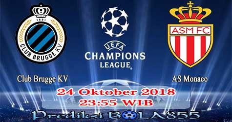 Prediksi Bola855 Club Brugge KV vs AS Monaco 24 Oktober 2018