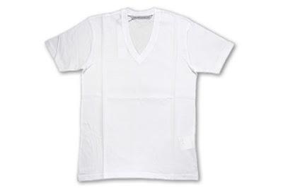 JOHN LAWRENCE SULLIVAN [ VネックTシャツ ] WHITE