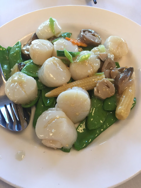 Favourite Kitchen, Wantirna, scallops