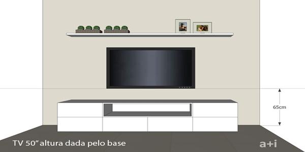 Suporte de parede TV - Infotec Blog