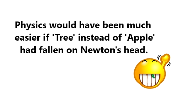 jokes about isaac newton