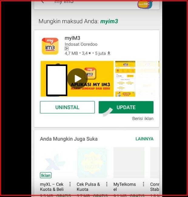 Cara Cek Masa Tenggang Indosat Pakai Aplikasi myIM3 Terbaru 2019