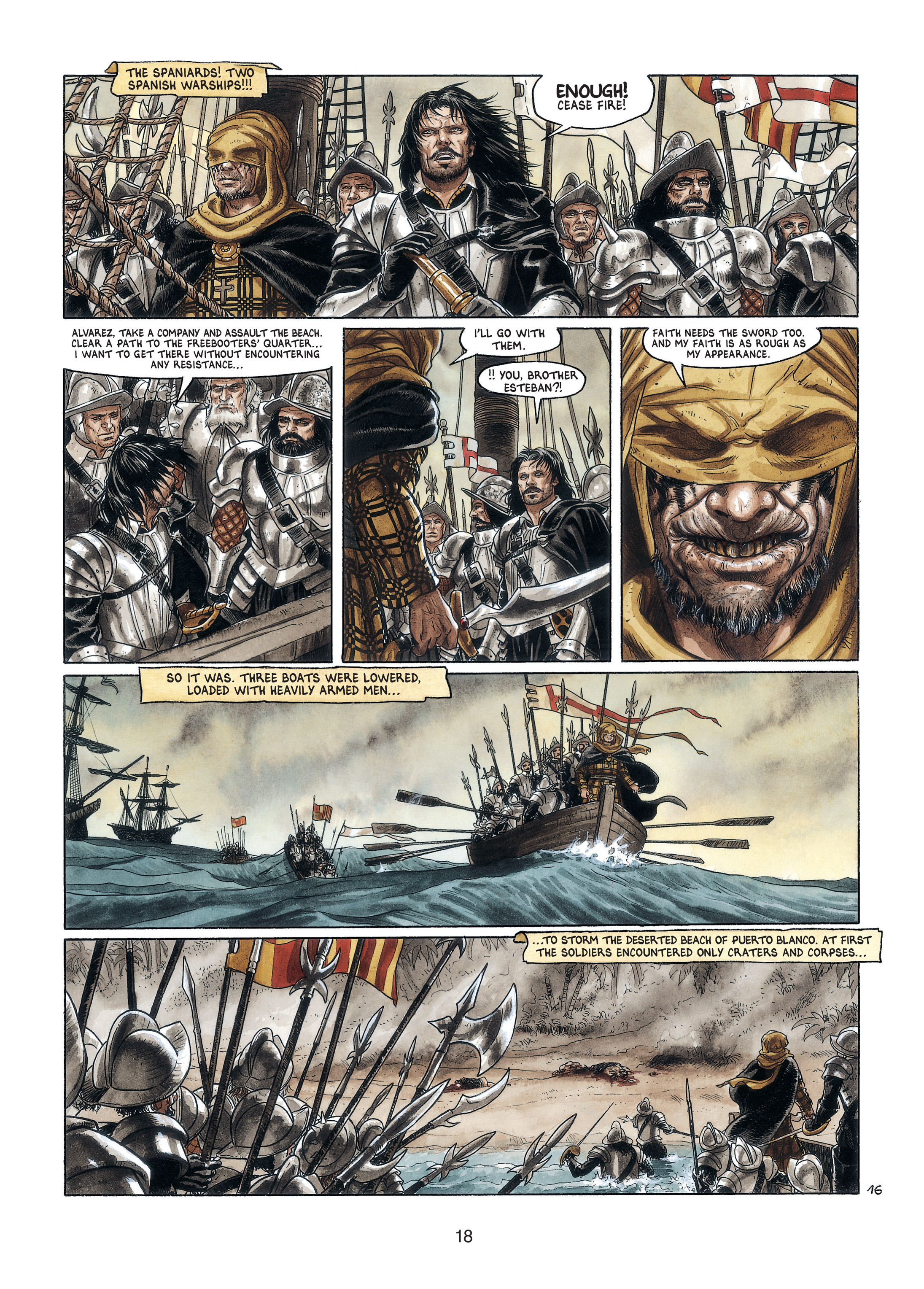 Read online Barracuda comic -  Issue #4 - 19