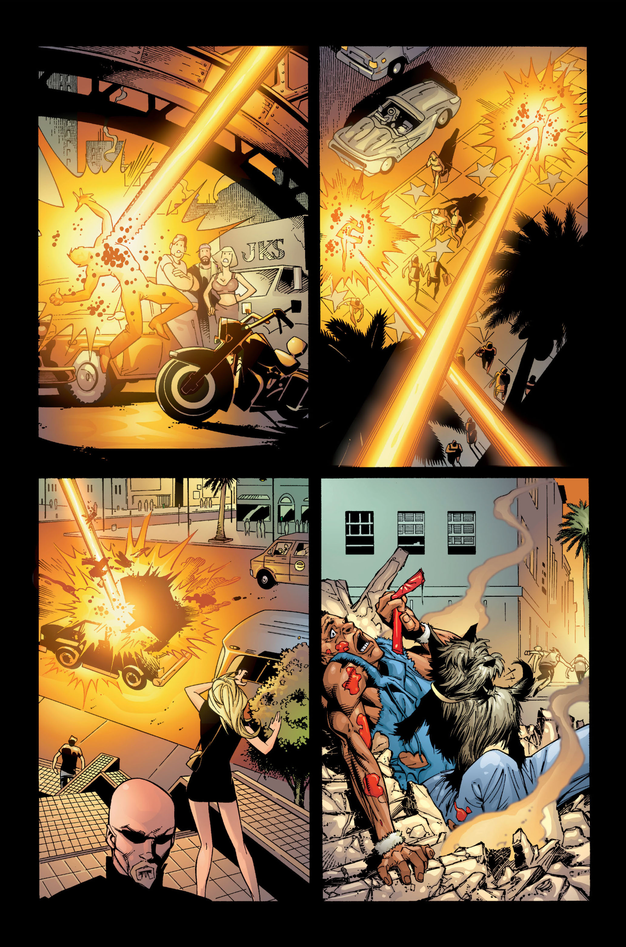 Read online Ultimate X-Men comic -  Issue #1 - 4