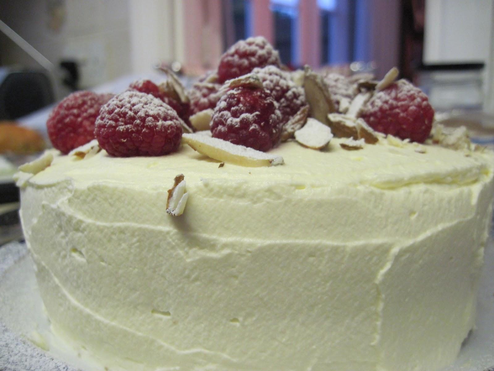 The Sugar Lump Raspberry Bakewell Cake