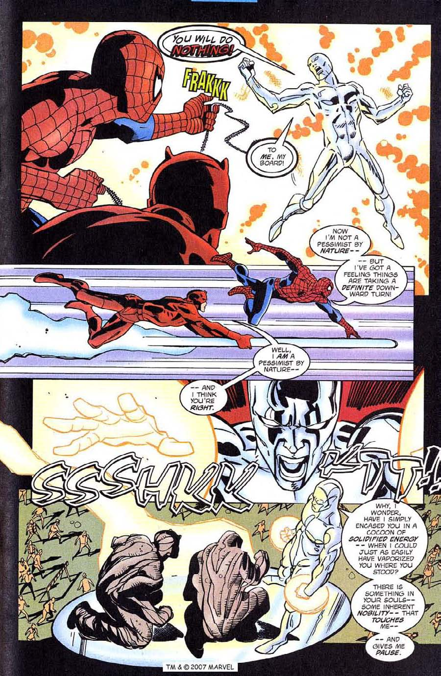 Read online Silver Surfer (1987) comic -  Issue #128 - 25
