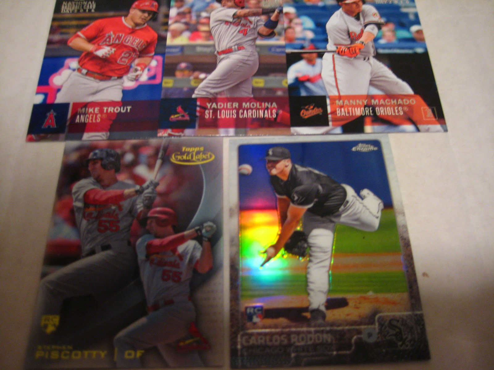 Baseball Cards Come To Life Street Trade National