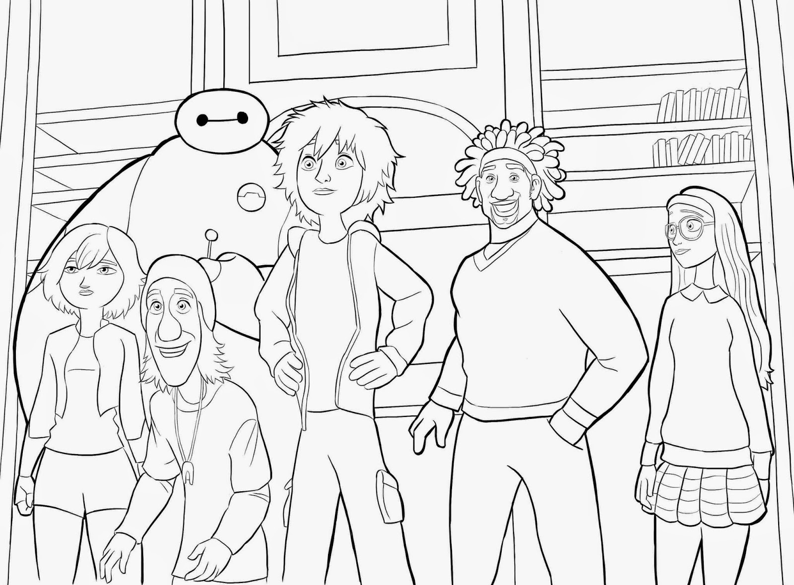 big hero 6 coloring pages hiro - photo #32