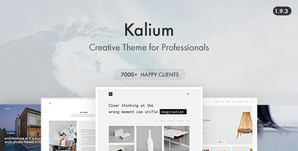 Kalium Wordpress Theme Free Download Nulled