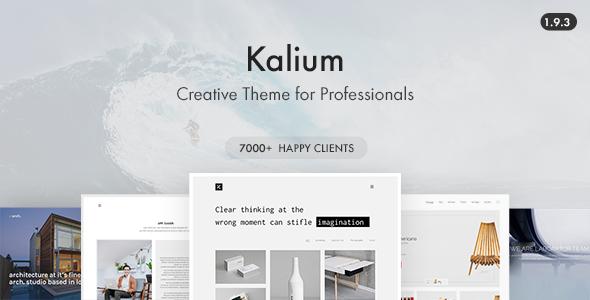 Kalium Wordpress Theme Free Download Nulled