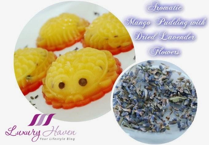 delicious lavender mango pudding recipes