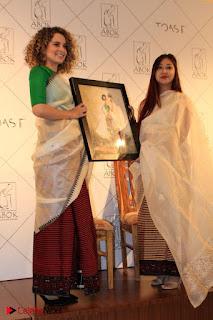 "Actress Kangana Ranaut Pos in Lehenga Choli at ""Between the Poet and her Pencil"" Book Launch  0005.jpg"