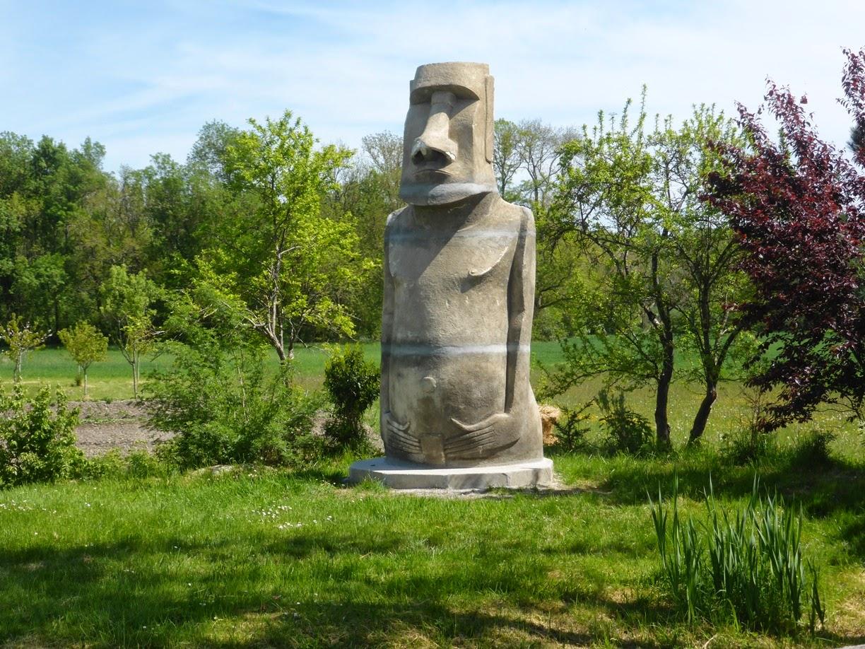 Easter Island In Lesigny.