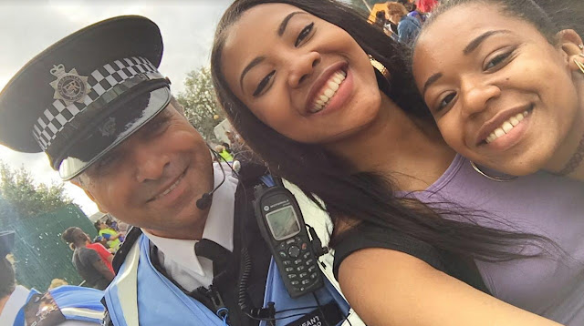 Chichi Mbagwu selfie uk police