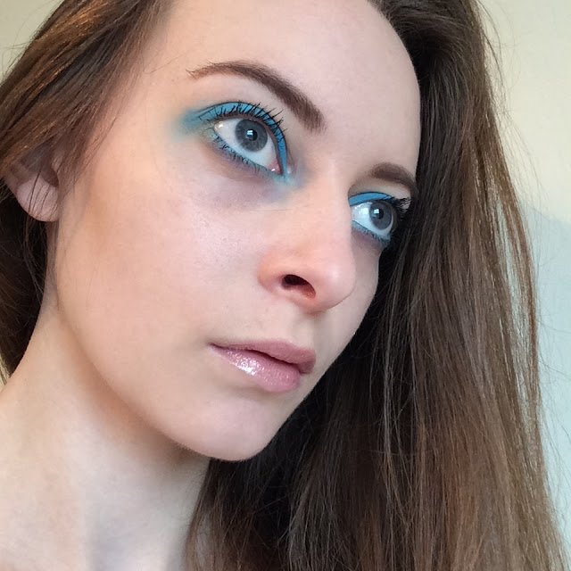 DVF make up inspired look