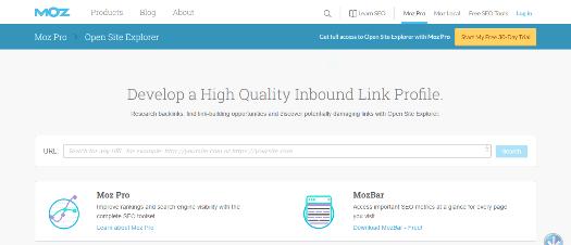 Open Site Explorer Link Research