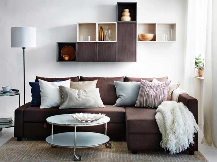 die kleines ecksofa als beste l sung f r kleine wohnzimmer de haus. Black Bedroom Furniture Sets. Home Design Ideas