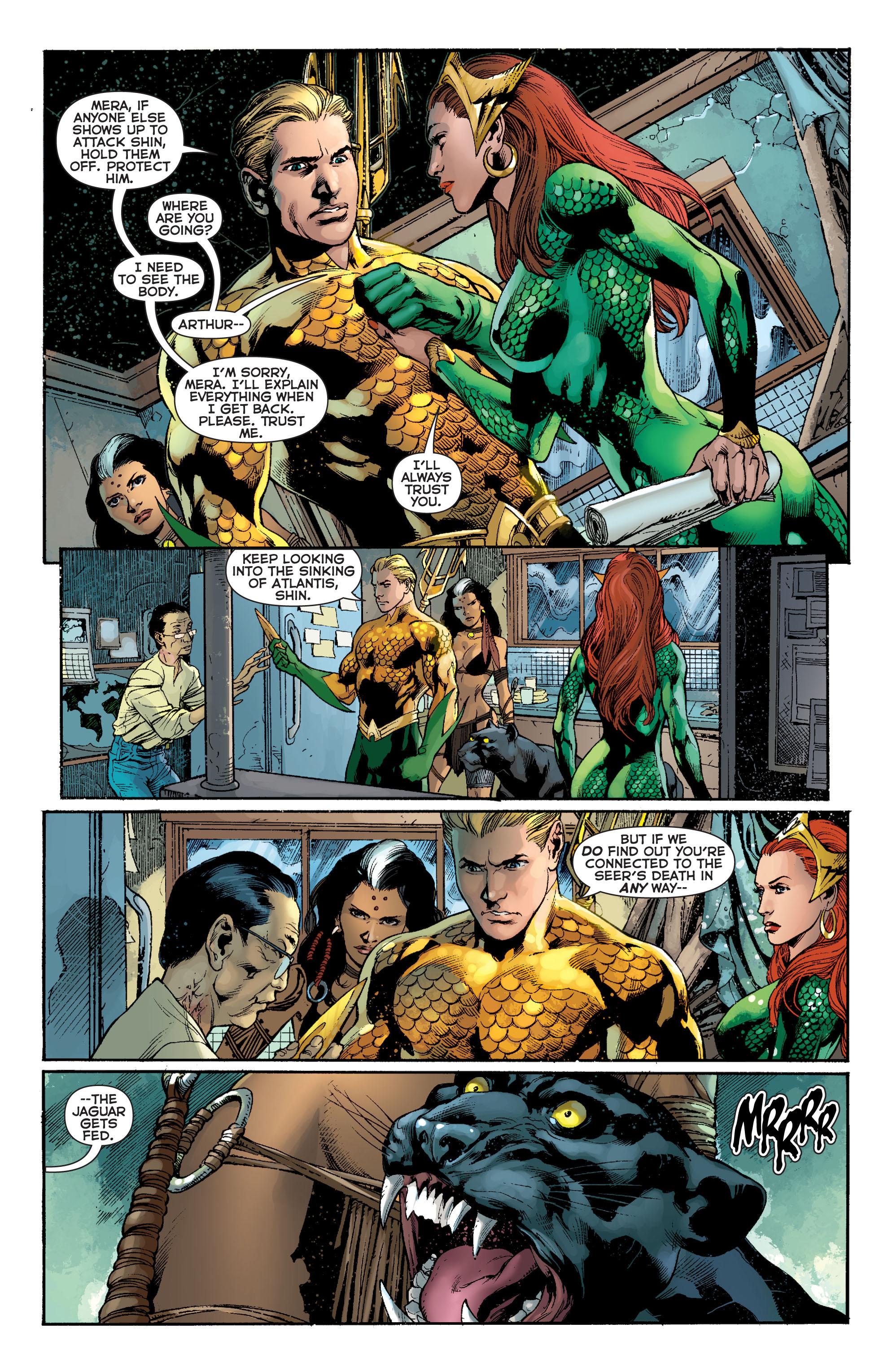 Read online Aquaman (2011) comic -  Issue #8 - 11
