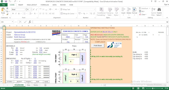 Rcc spreadsheets download