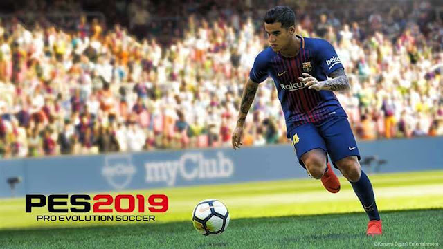 PES 2019 Coutinho Start Screen For PES 2017