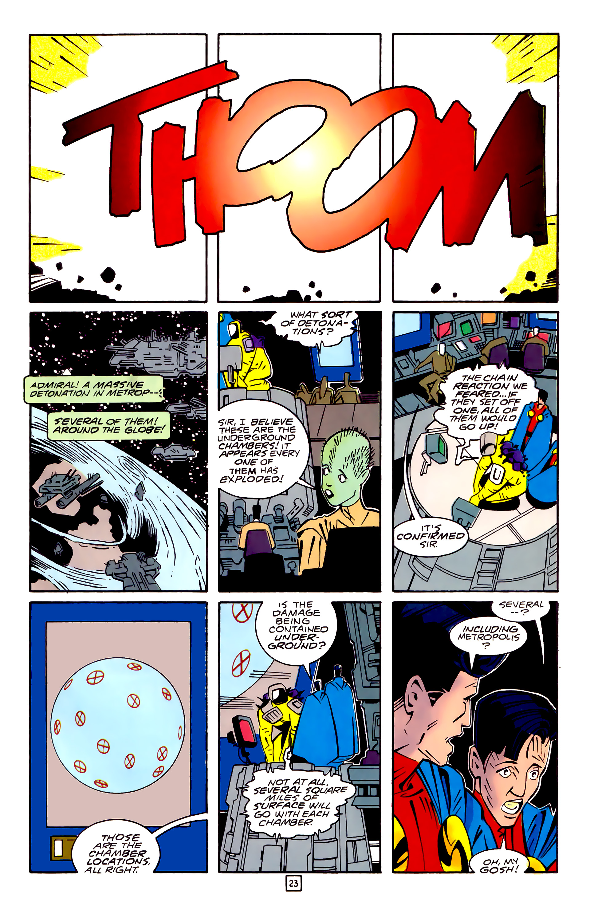 Legion of Super-Heroes (1989) 32 Page 23