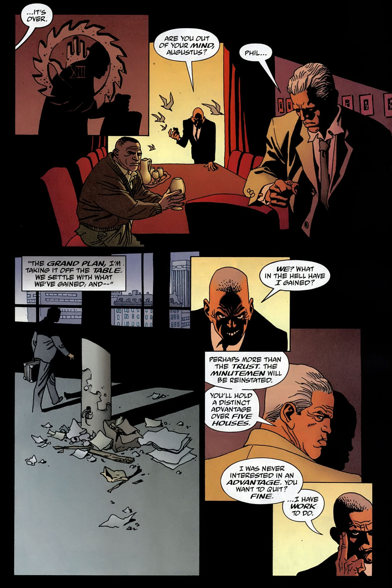 Read online 100 Bullets comic -  Issue #97 - 11