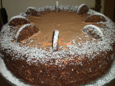 Torta od banana i čokolade / Chocolate banana cake