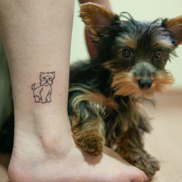 Yorkshire Terrier Tattoo