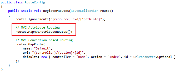 Attribute Routing in MVC and Web API - exploring the goodness