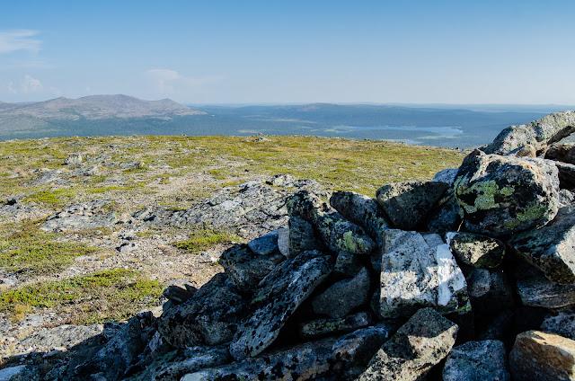 Saariselkä Koilliskaira ukk-puisto kansallispuisto tunturi vuori vaellus retki retkeily rinkka