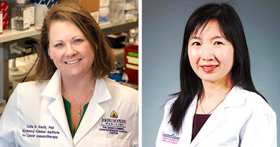 Dr. Kellie Smith and Dr. Haiying Cheng