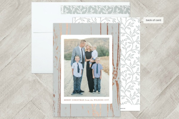 Minted foil card