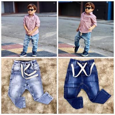 Atacado de jeans infantil