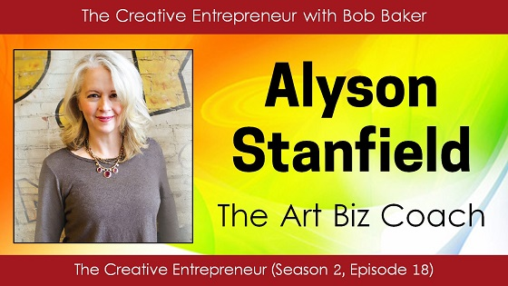 Alyson Stanfield, the Art Biz Coach, interview