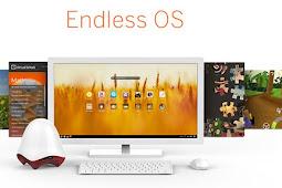 Endless OS, Sistem Operasi Gratis untuk PC dan Laptop Tanpa Internet