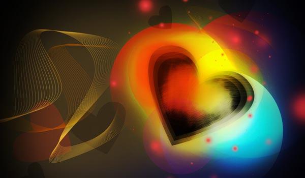 Colorful Valentine Hearts Wallpaper Valentine S Day
