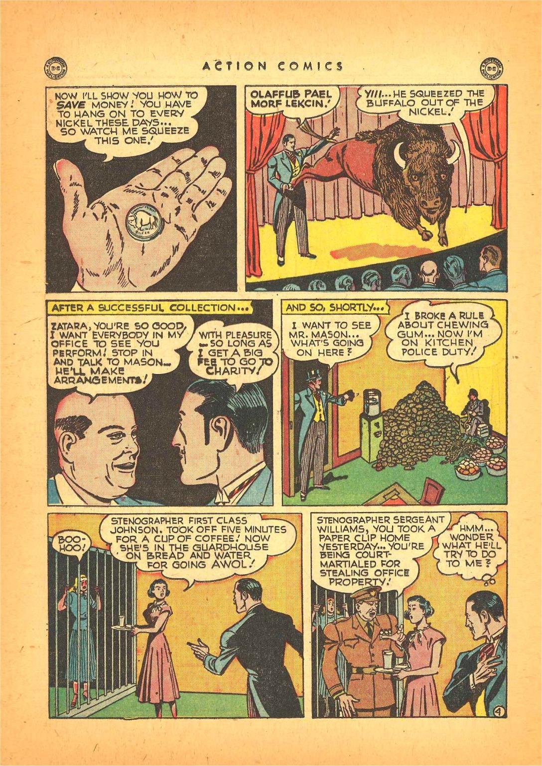 Action Comics (1938) 130 Page 34