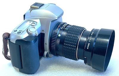 Pentax MZ-7, SMC Pentax-M 100mm F2.8